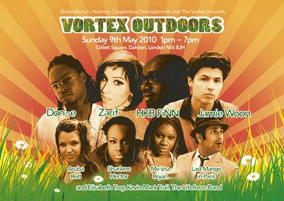 Vortex Outdoors: a free festival of jazz, reggae, soul, funk and hip hop